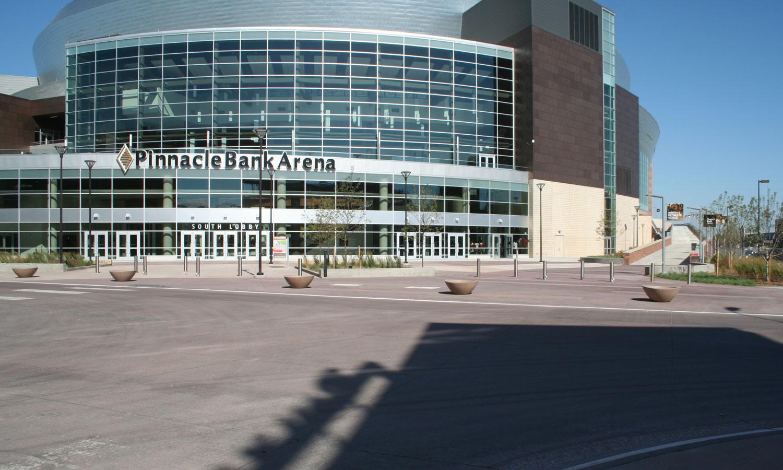 Nebraska Ready Mixed Concrete : Pinnacle bank arena concrete industries