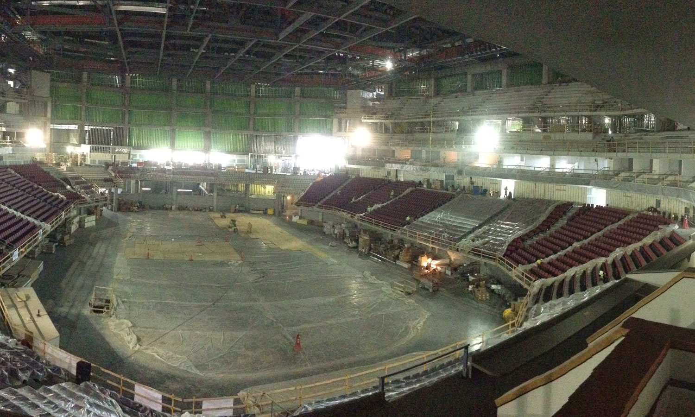 Pinnacle Bank Arena Concrete Industries