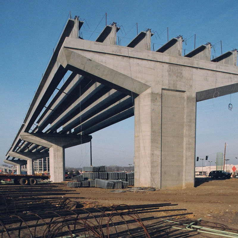 Beam Bridge Construction Materials : Bridge girders concrete industries